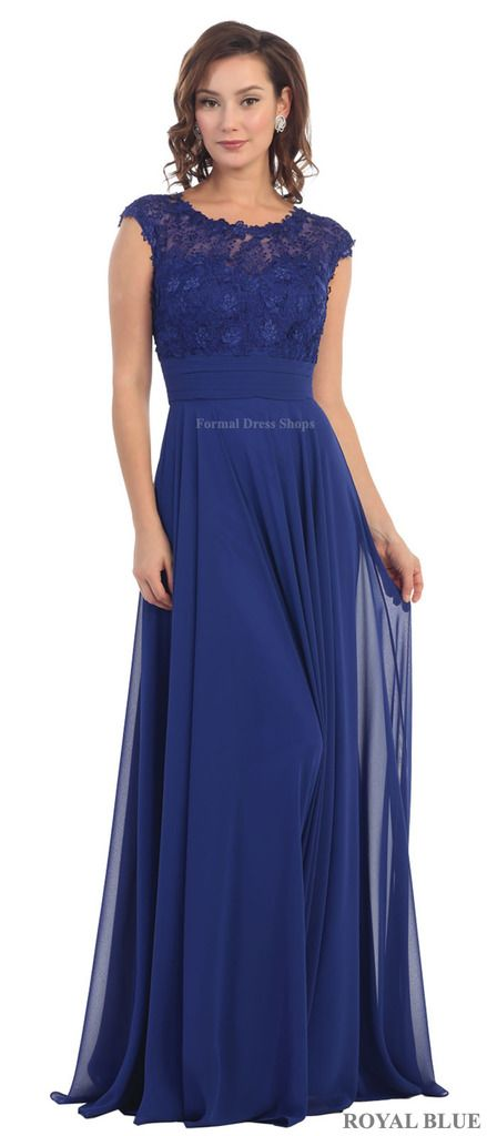 Designer CAP SLEEVE MOTHER OF THE BRIDE GROOM LONG DRESS FORMAL EVENING GOWN SPECIAL OCCASION CHRUCH & PLUS SIZE