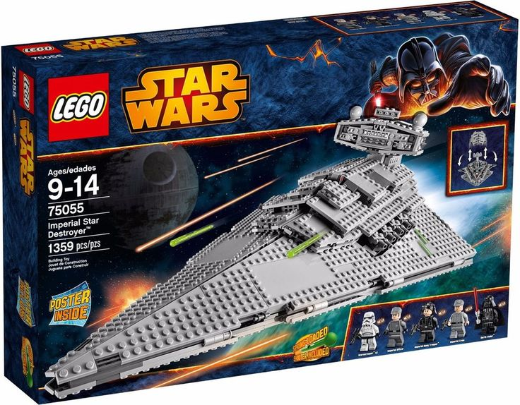 NEW & SEALED! LEGO Star Wars 75055 Imperial Star Destroyer ++FREE SHIPPING++ #LEGO #StarWars #RogueOne