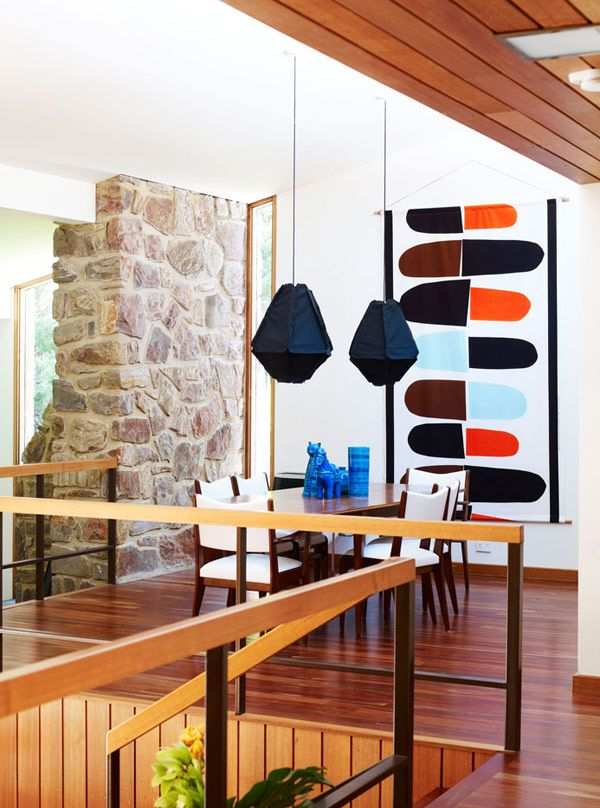 Because mid-century furniture instantly bursts any space. | My Design Agenda
