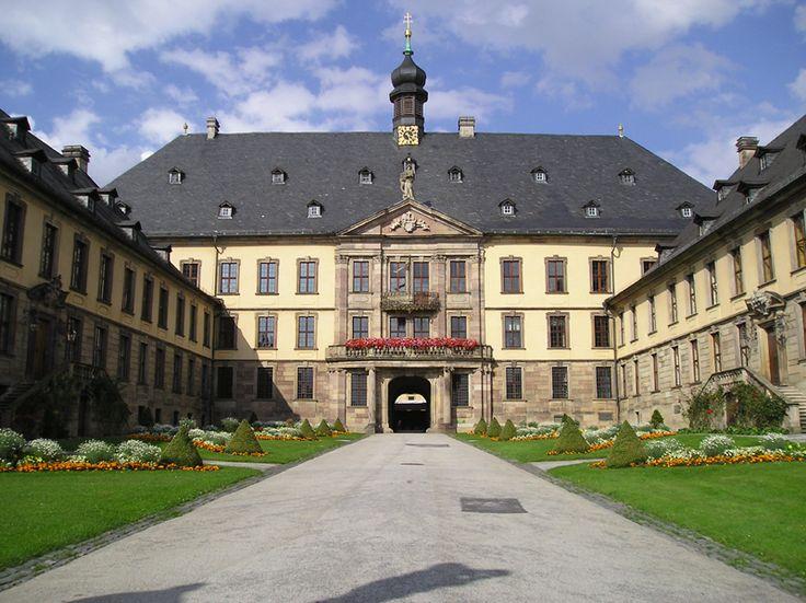 Castelo da cidade de Fulda, em Hesse, na Alemanha.  – Wikipédia, a enciclopédia livre.