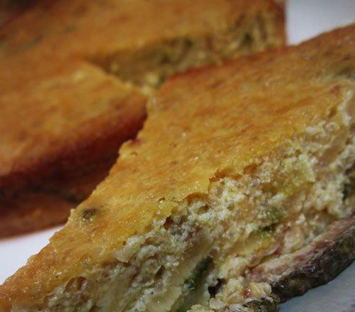 Quinoa Zucchini Leek Kugel