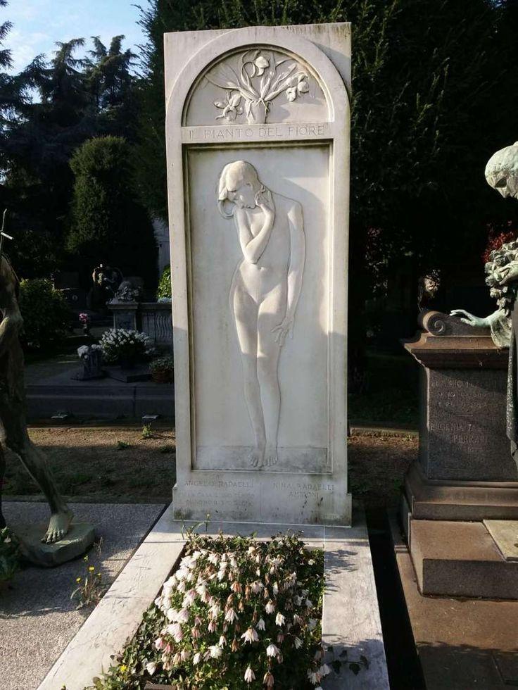 Cimitero Monumentale di Milano - Decorazioni funebri