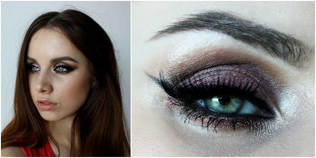autumn makeup brown smokey eyeshadows jesenné líčenie :) beauty blogerka