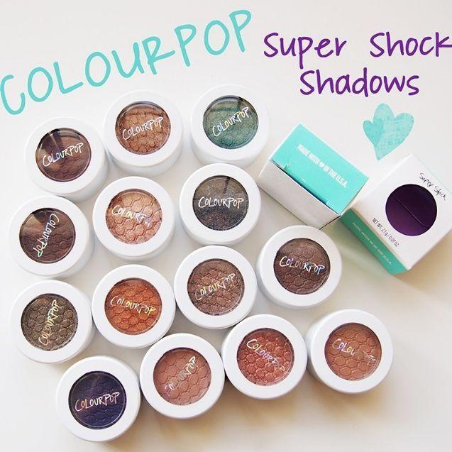 New ColourPop Eye Shadow Super Shock Metallic Pearlized Matte Choose Your Color #Colourpop