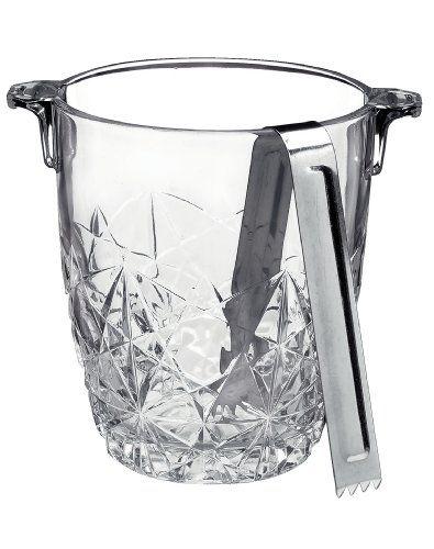 Bormioli Rocco Dedalo Ice Bucket with Tongs Bormioli Rocco http://www.amazon.com/dp/B002IT6X4S/ref=cm_sw_r_pi_dp_A8y-vb1EQX95P