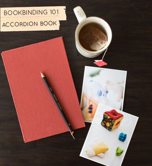 Bookbinding 101: Accordion Book How To #bookbinding #diy