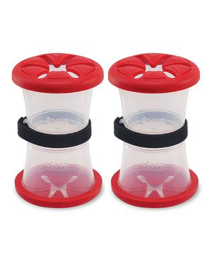 Look at this #zulilyfind! Pacifier Storage Nest - Set of 2 by NUK #zulilyfinds