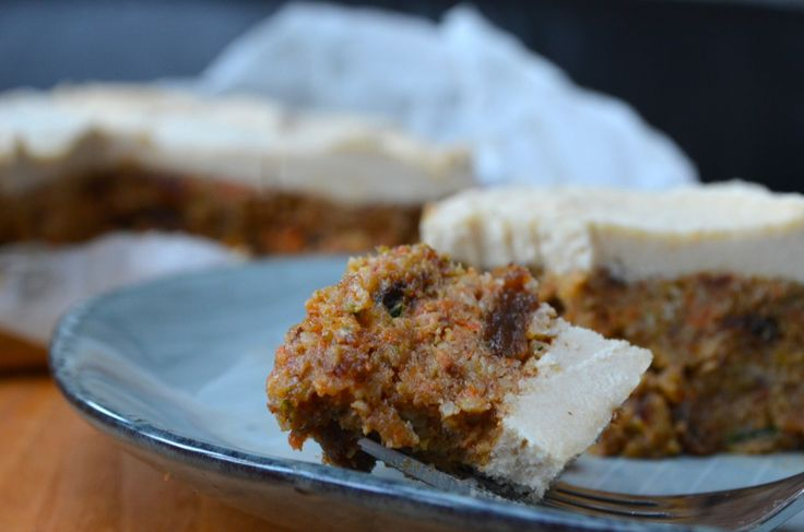 Raw Courgette and Carrot Christmas Cake - Livia's KitchenLivia's Kitchen