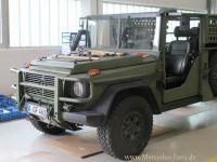"""Kennen Sie den Mercedes G 270 cdi Light Infantrie Vehicle (Special Operations) / LIV(SO) """"Serval""""? Nein? Das ist auch kaum verwunderlich. Denn der Serval oder"""