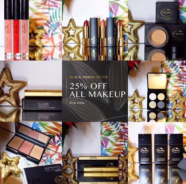 Thank you for all your orders so far :-)   Our Balck Friday Event is on until mi-night tonight 28.11.15 ..Dont miss out!  https://www.tropicskincare.co.uk/shop/Karenpalmer