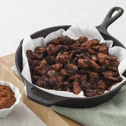 Check out this Blackened Alligator recipe from LouisianaSeafood.com