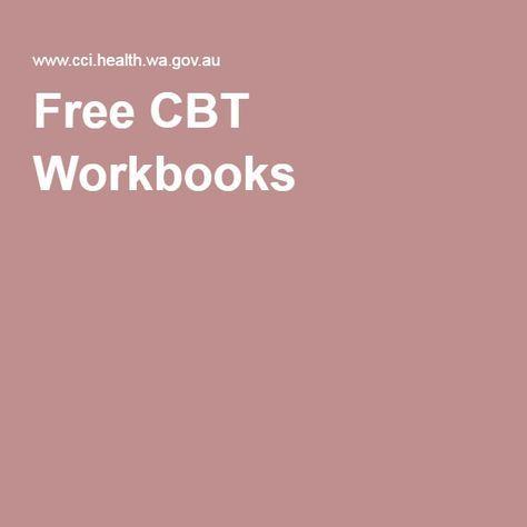 Free CBT Workbooks                                                                                                                                                                                 More