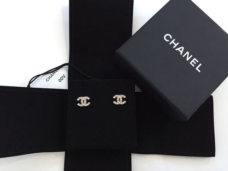 chanel ohrringe cc original teure schmuck f r sie foto blog. Black Bedroom Furniture Sets. Home Design Ideas