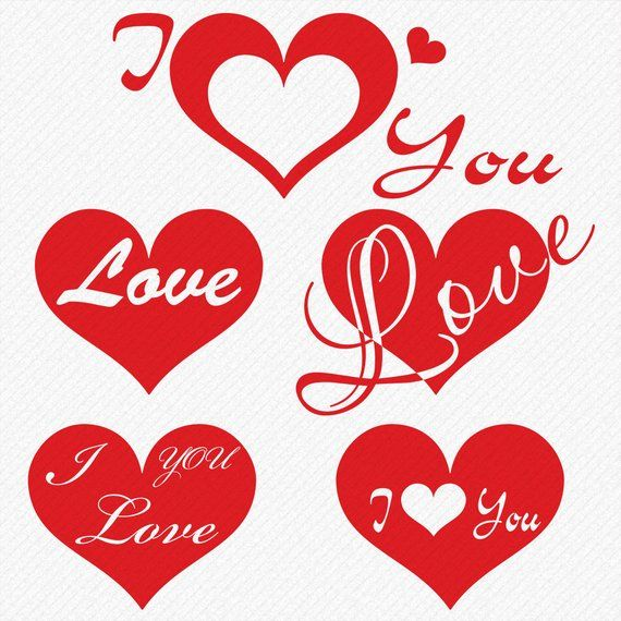 Download I Love You SVG t-shirt design, Wedding and Valentines day ...