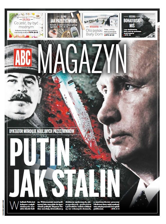 ABC Magazine 5/5 2015 Putin jak Stalin