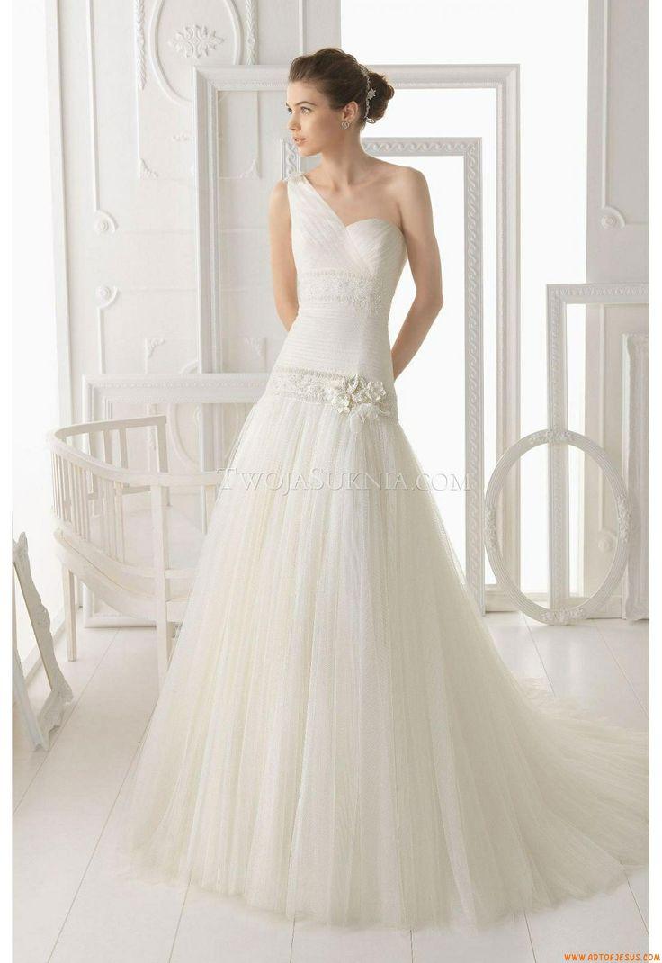 abiti da sposa Aire Barcelona 105 Oblicuo 2014