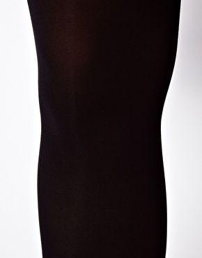 ASOS CURVE 80 Denier Black Tights (24/26)