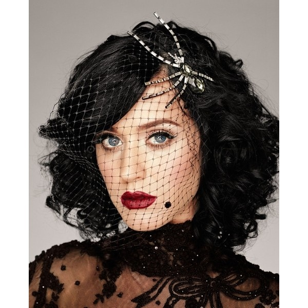 Short Hairstyles for Curly Hair via Polyvore