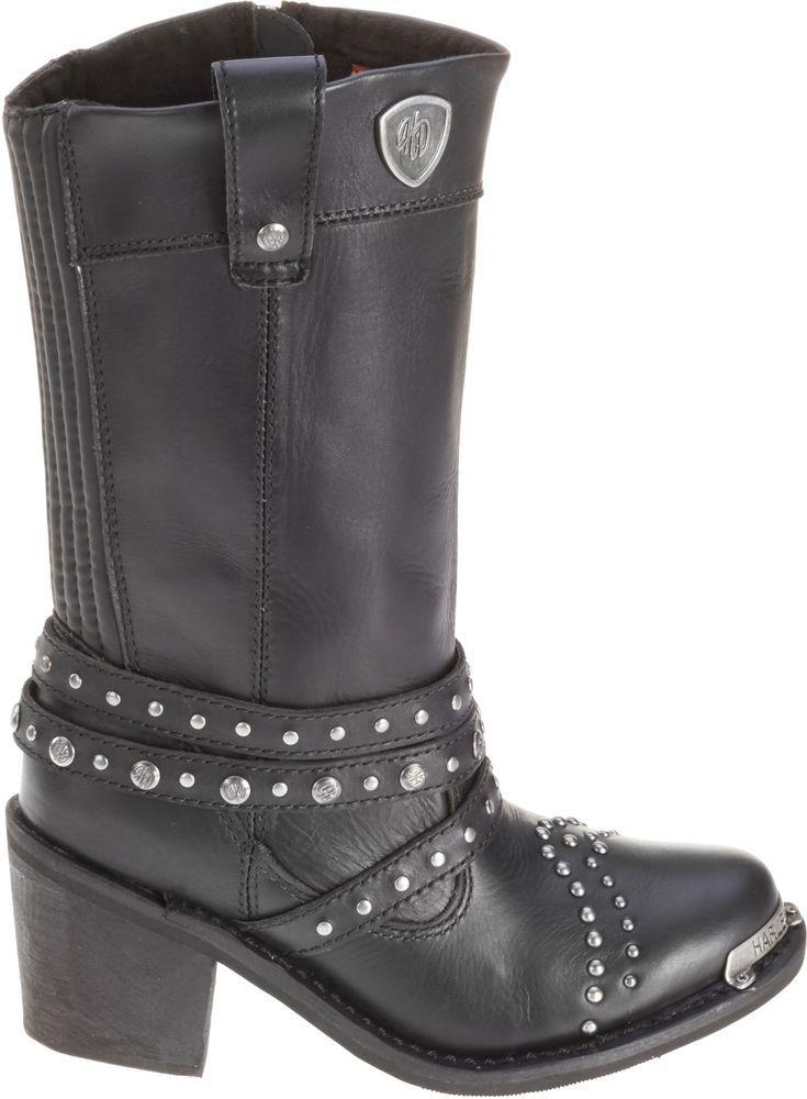 NEW Harley-Davidson Womens Boots D87047 April size 6 Medium #HarleyDavidson #Motorcycle