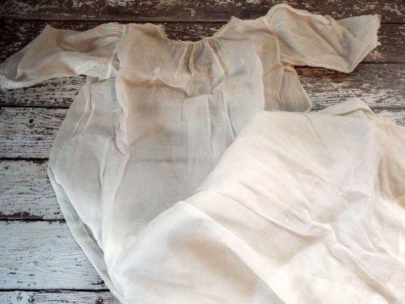 Long dress slip 3 stitches