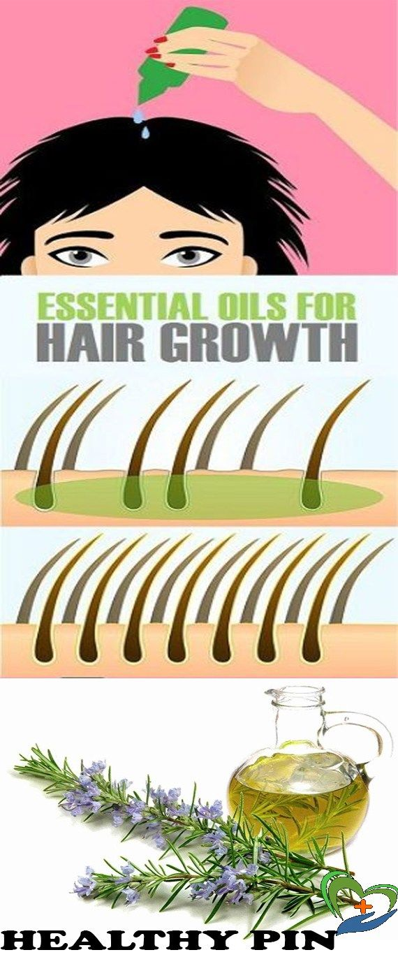 10 Best Natural Essential Oils for Hair Growth!!