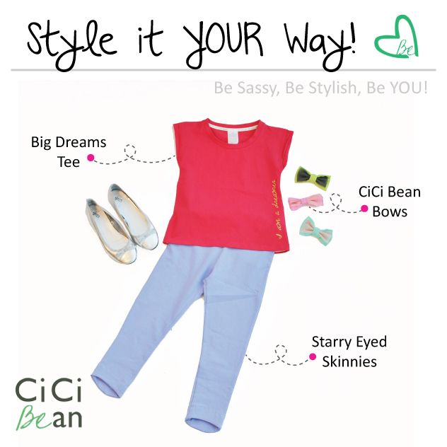 Style it YOUR way!   CiCi Bean - clothing for tween girls.    Shop On-Vine at www.peekaboobeans.com/nonaj