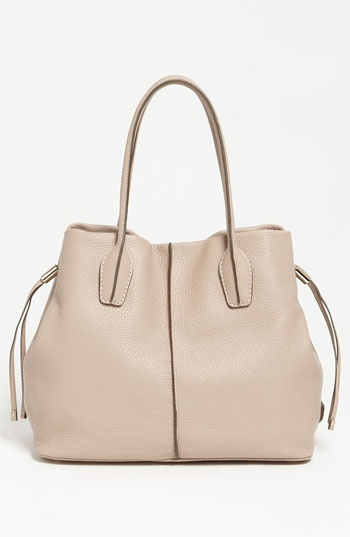 Tods D-Styling Leather Shopper