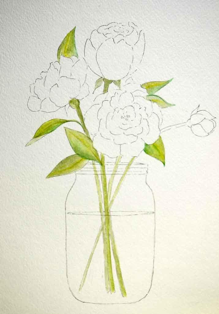 Peony Patterns - Just Paint It Blog