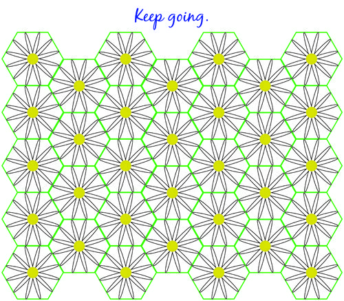 daisy blanket diagram