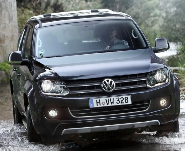 2013 VW Amarok pickup truck provided with a powerful diesel engine priced from €19,835