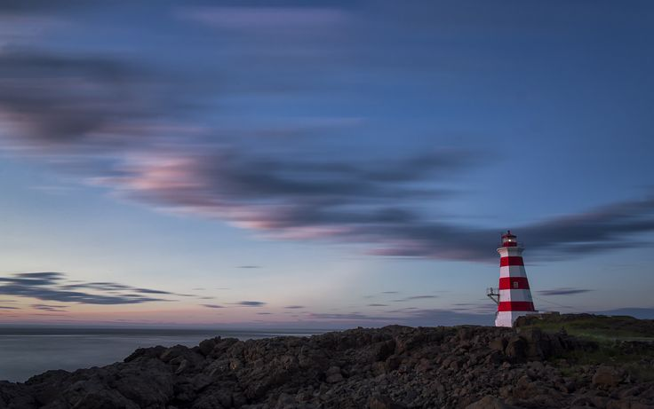 Brier Island lighthouse is one of the lighthouses we would take you to during our Nova Scotia lighthouse workshop or photo tour.