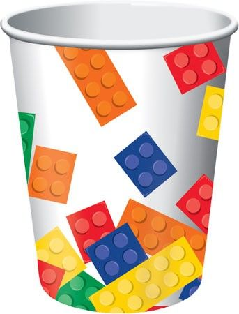 Bicchieri Lego Block Party