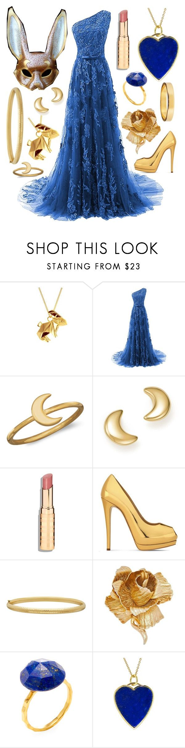 """The Rabbit"" by roboticabirdie ❤ liked on Polyvore featuring Origami Jewellery, BillyTheTree, Bloomingdale's, Giuseppe Zanotti, Everlasting Gold, Christian Dior, Alanna Bess and Jennifer Meyer Jewelry"