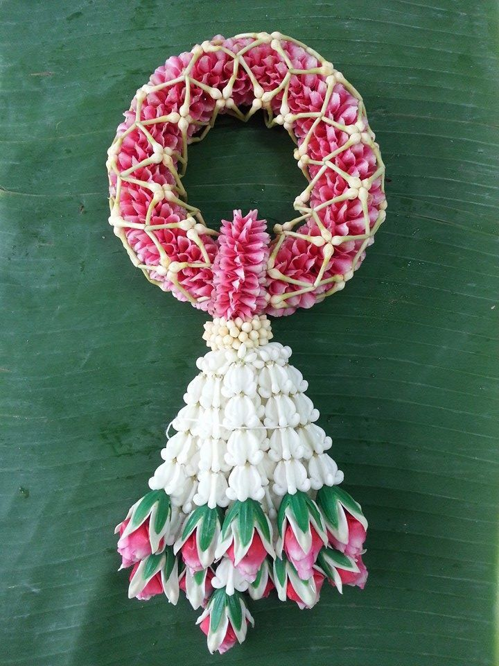 Thai flower garland-Tropical Flower Design