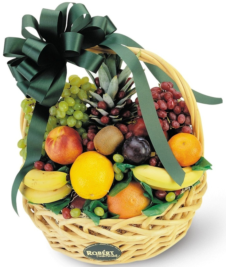 15 best Fruit Gift Baskets images on Pinterest Basket of fruit