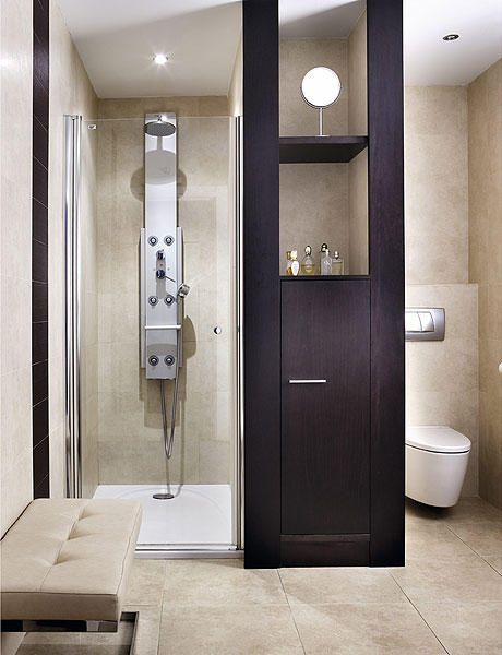 11 baos pequeos con ducha integrada - Cuartos De Bao Pequeos Con Ducha