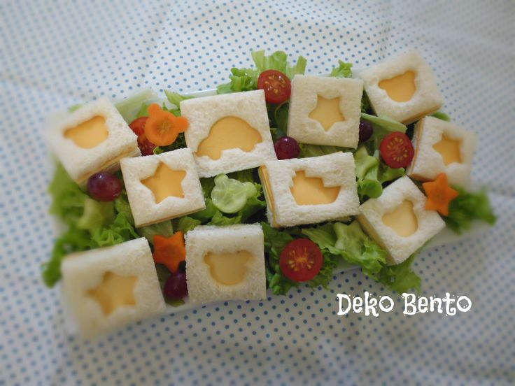 Small sandwich platter - dekobento.co.nz