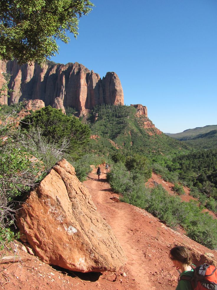 Backpack the lesser known, more secluded section of Zion. La Verkin Creek Trail in Kolob Canyon, Zion National Park. Click through to read about our trip where we practically had the trail to ourselves!