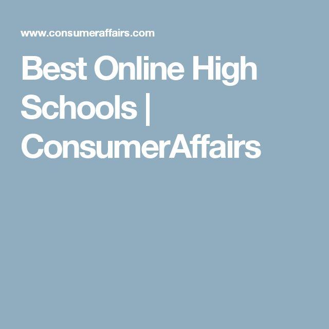 Best Online High Schools   ConsumerAffairs