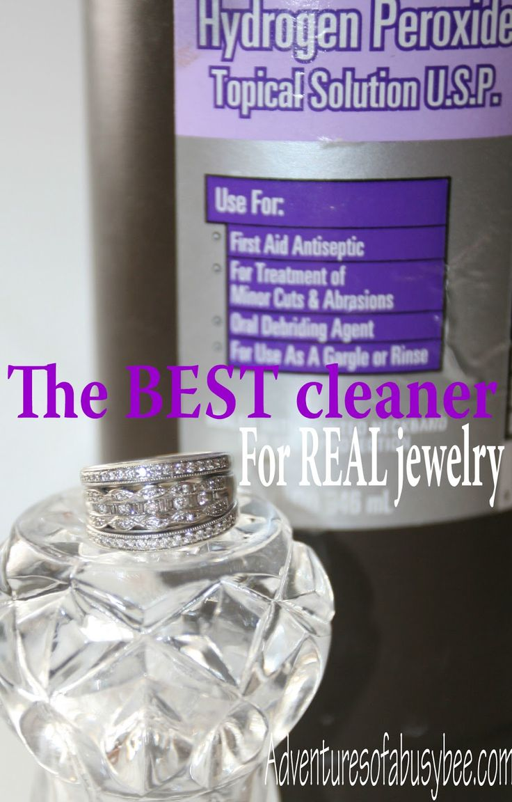 Adventures of a BusyBee: A sure-fire ring cleaner for REAL jewelry! Check it out...this really works and you won't believe how much dirt is hiding in your jewelry! #DIY #homemade cleaners