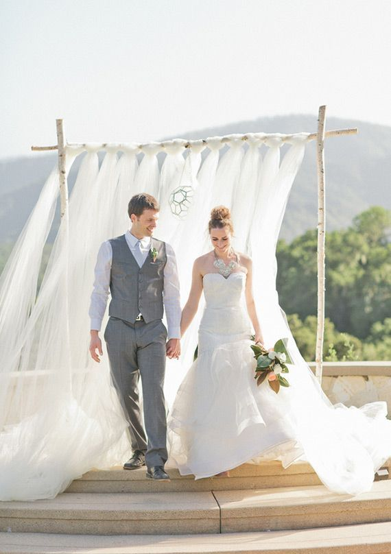 Tulle. The Perfect Bridal Material   Team Wedding Blog