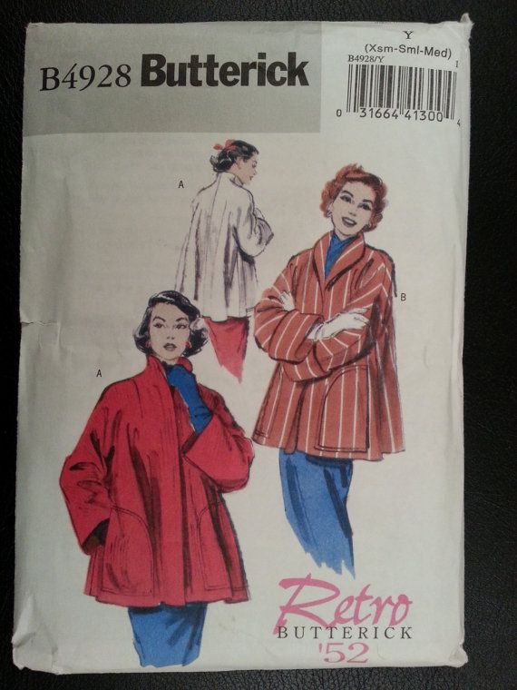 Butterick 4928 Retro '52 Remake Misses Lined by Noahslady4Patterns