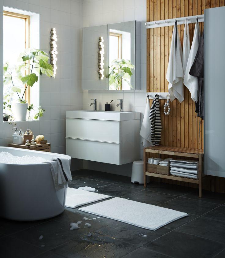 109 best Badkamers images on Pinterest Bathroom, Bathroom ideas - ikea küchen katalog
