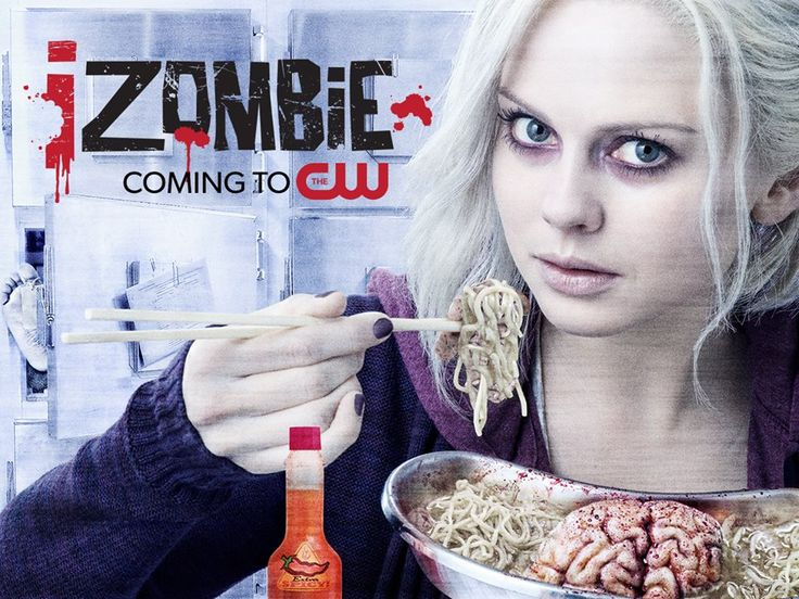 Heres the thing about liv shes got brains izombie is