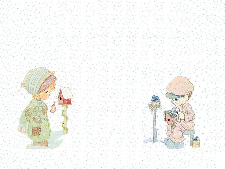precious moments nativity wallpaper backgrounds - photo #28