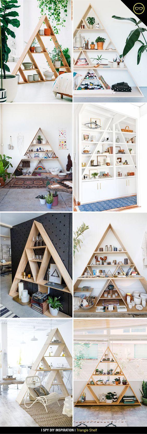 Best 25+ Triangle bookshelf ideas on Pinterest   How to decorate ...