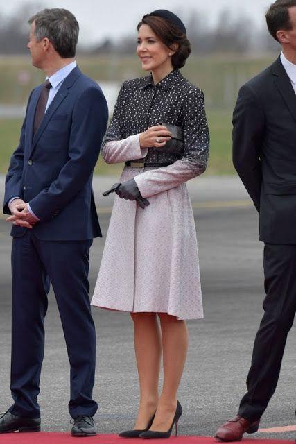 Denmark Royals welcomes Mexican President Enrique Pena Nieto