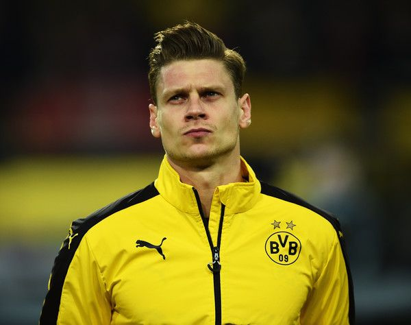 Lukasz Piszczek Photos - Lukasz Piszczek of Dortmund looks on during the UEFA Europa League quarter final first leg match between Borussia Dortmund and Liverpool at Signal Iduna park on April 7, 2016 in Dortmund, Germany. - Borussia Dortmund v Liverpool - UEFA Europa League Quarter Final: First Leg