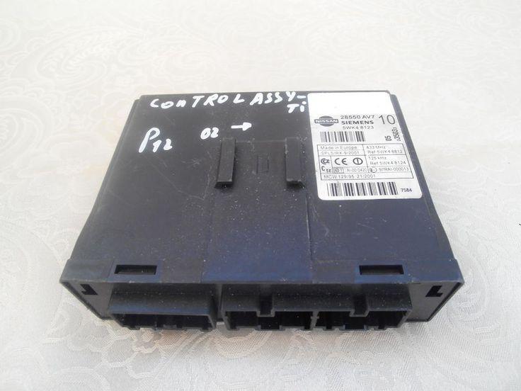 Steuergerät Zentralverriegelung Nissan Primera P12 28550AV7 / 5WK48123