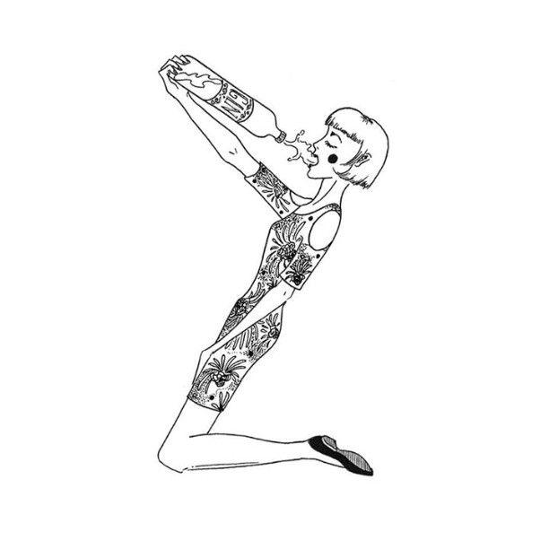 Z is for Zillah who drank too much gin. – #36daysoftype #36daysoftype_z #36days_z #lettering #blackwork #alphabet #illustration #art #design #ink #inkart #lineart #liner #type #inspire #artfollow...